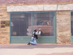 Winslow, Arizona, made famous in the Eagles song